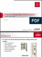 Reduced Voltage Motor Starting Basics Training Presentation
