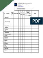 MBSB KL02 Machinery Inspection Checklist