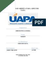 Tema II Derecho Penal General
