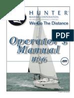 Hunter 36 2008