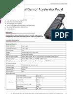 RunnTech F200 Series Hall Sensor Accelerator Pedal