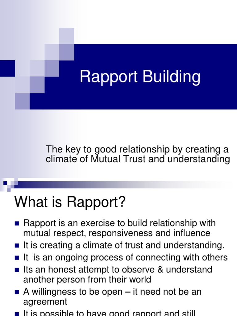 What is rapport 15