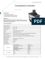RunnTech W100 Series Thumbwheel Controller