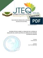 Informe Tecnico Lobulos Radiacion Arreglo Isotropicos