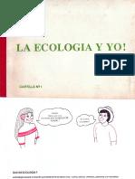 FHV - LA ECOLOGIA Y YO CARTILLA N°1