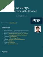 ConvNetJS Talk