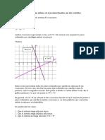 Conjunto Solución de Un Sistema de Ecuaciones Lineales Con Dos Variables