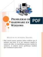 Problemas de Hardware en Windows2