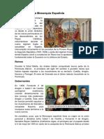 Formación de La Monarquía Española