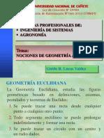 Nociones Geometría Analítica