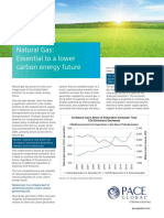 Natural Gas - Essential to a Lower Carbon Energy Future