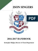 Harrison Singers Handbook