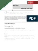 Axtraxap User Guide