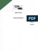 Manual Túnel de Viento Subsónico C15-10 (2013)