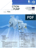 Ebara Centrifugal End Suction Volute Pump - FSA