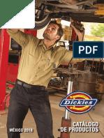Catalogo Dickies 2018