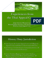 Suntariya Muanpawong - Experiences From the Thai Appeal Courts