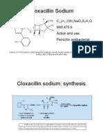 Cloxacillin QC