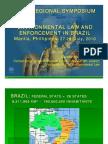 Vladimir Passos de Freitas - Environmental Law and Enforcement in Brazil