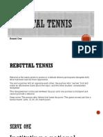 Rebuttal Tennis