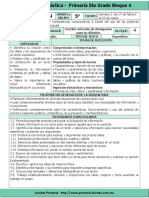 Plan 5to Grado - Bloque 4 Español (2016-2017).doc