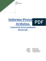 Informe Proyecto Arduino