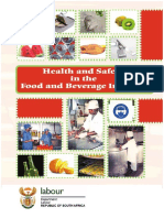 OHS - Occupational Health and Safety in the Food and Beverage Industry