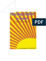 Teaching English in Sudan a Practical Approach