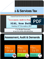 Assessment- Audit and Demands