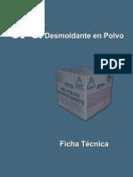 Desmoldante en Polvo _ Ficha Tecnica