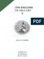 Romae Aeterna Latin-English Vocabulary II.pdf