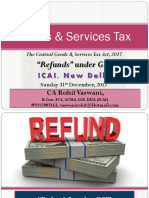 Refunds Under GST