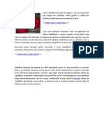 Planilha Fórmula de Aposta PDF - Acertar Na Lotofácil DOWNLOAD