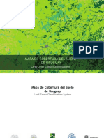 Mapa de Cobertura Del Suelo de Uruguay Land Cover Classification System