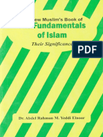 The New Muslim's Book of the Fundamentals of Islam