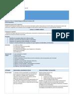 Planeación Didáctica Unidad 1