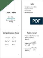01 Algebra