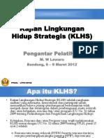 1. M.W. Lewaru, Pengantar Pelatihan KLHS.pptx