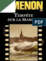 Simenon G. - Tempete Sur La MancheFR