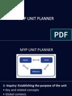 Myp Planner Presentation