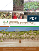 Mainstreaming SLM in Agro Pastoral Production