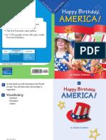 G1 Social Studies - Happy Birthday, America!