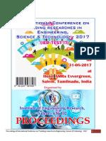 Paper Proceedings IER-TEST'17