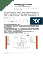 Description of Ammonia Manufacturing Processes