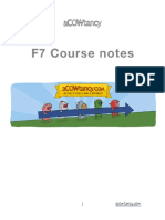 ACCA F7 Course Notes
