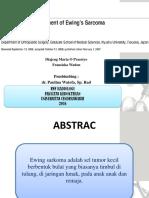 Jurnal Reading sarcoma ewing