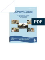 Water Quality Status Rural Areas of Pakistan - 2010