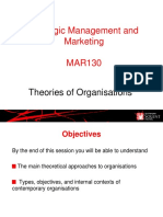 Theories of Organisations