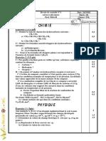 Devoir de Contrôle N°1  - Physique - 3ème Math (2009-2010) Mr Mhiri