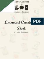 Lenormand Combinations E-Book